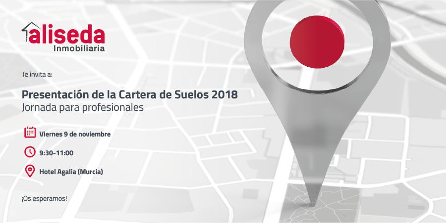 Jornada para profesionales de Aliseda Inmobiliaria: Presentación de la Cartera de Suelos 2018