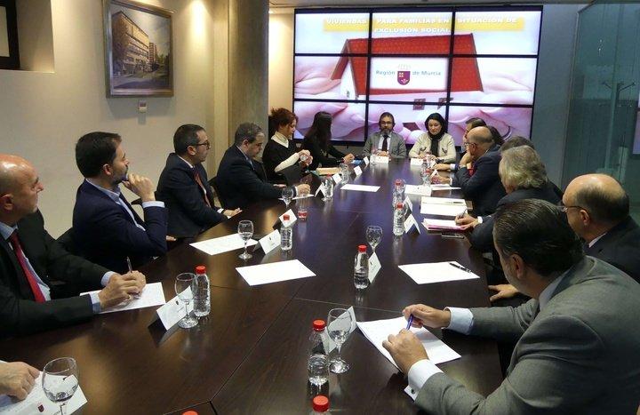 La Consejería de Fomento licita la adquisición de viviendas de segunda mano en Murcia