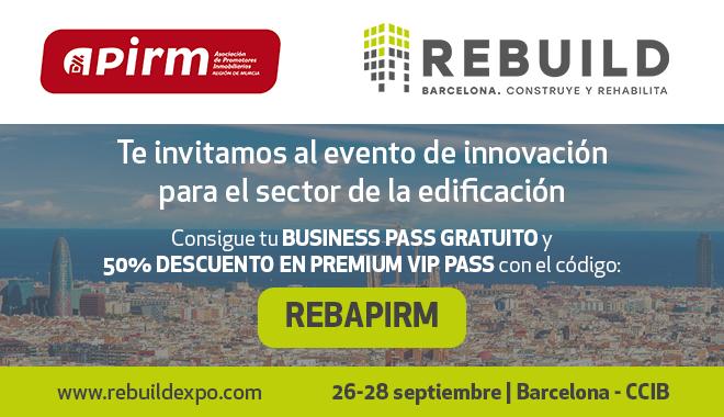 APIRM te ofrece la posibilidad de asistir gratis a REBUILD