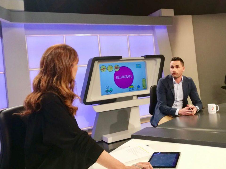 Entrevista a nuestro asociado Francisco Pérez, de Promociones Pérez Cánovas, en el espacio 'Relánzate' de la 7 Televisión Región de Murcia