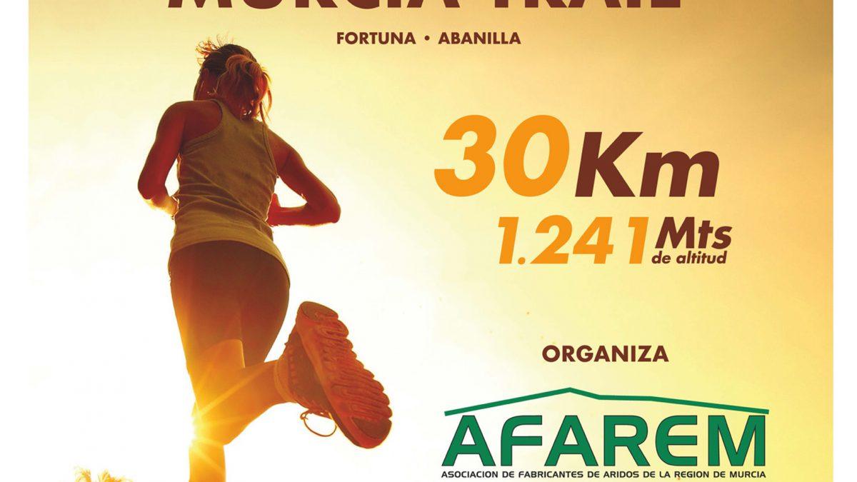 Prueba deportiva con fin solidario organizada por Afarem (Asociación de Fabricantes de Áridos de la Región de Murcia)