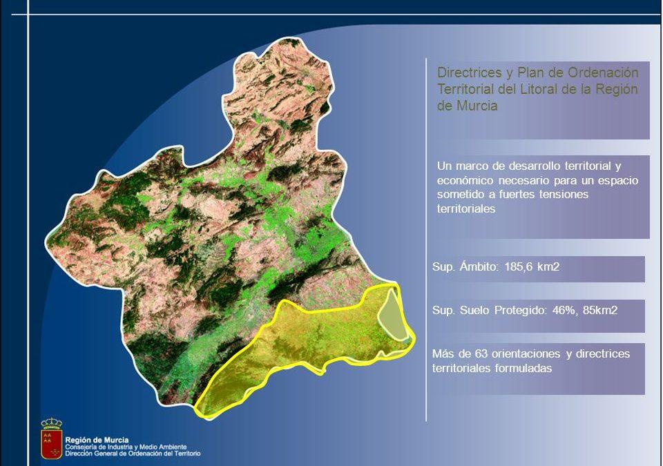 Publicados en el BORM los anuncios de información pública de las modificaciones n.º 5 y 6 de las Directrices y Plan de Ordenación Territorial del Litoral