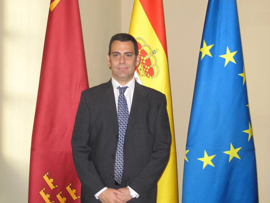 José Ramón Díez de Revenga, nuevo interlocutor del Gobierno regional con el sector