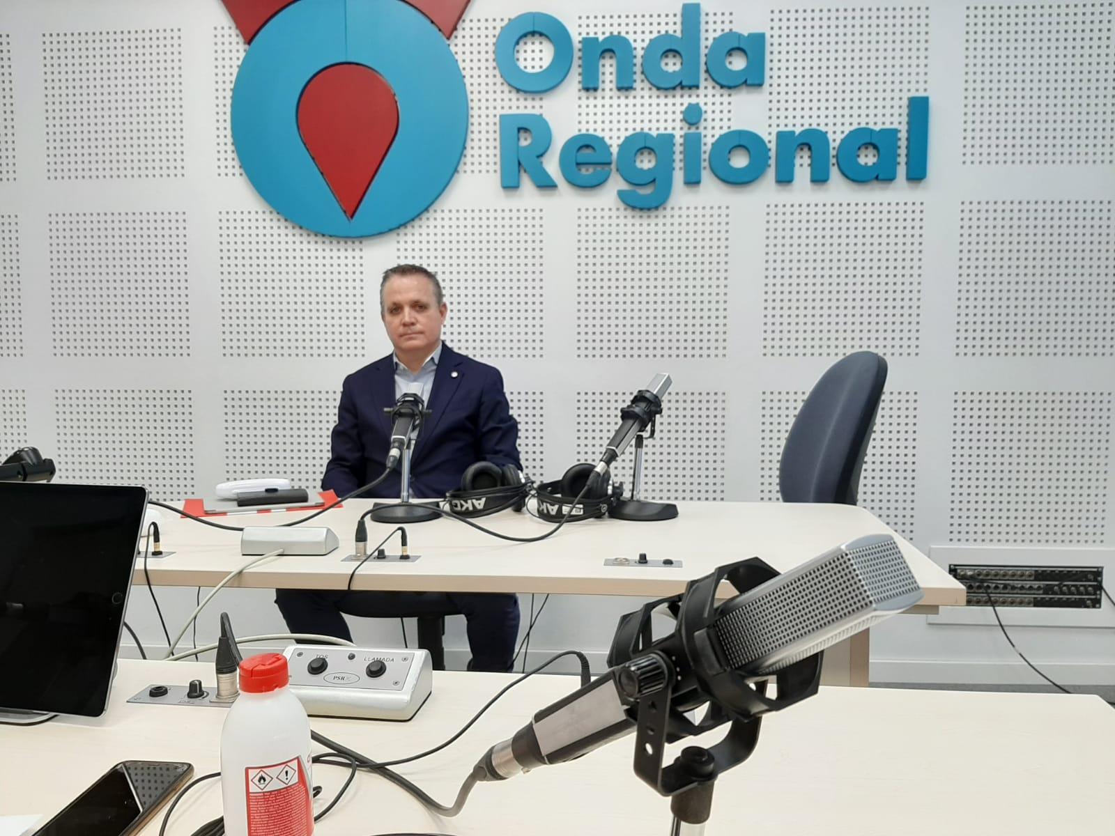 Entrevista a José Ramón Blázquez, presidente de APIRM, en Onda Regional