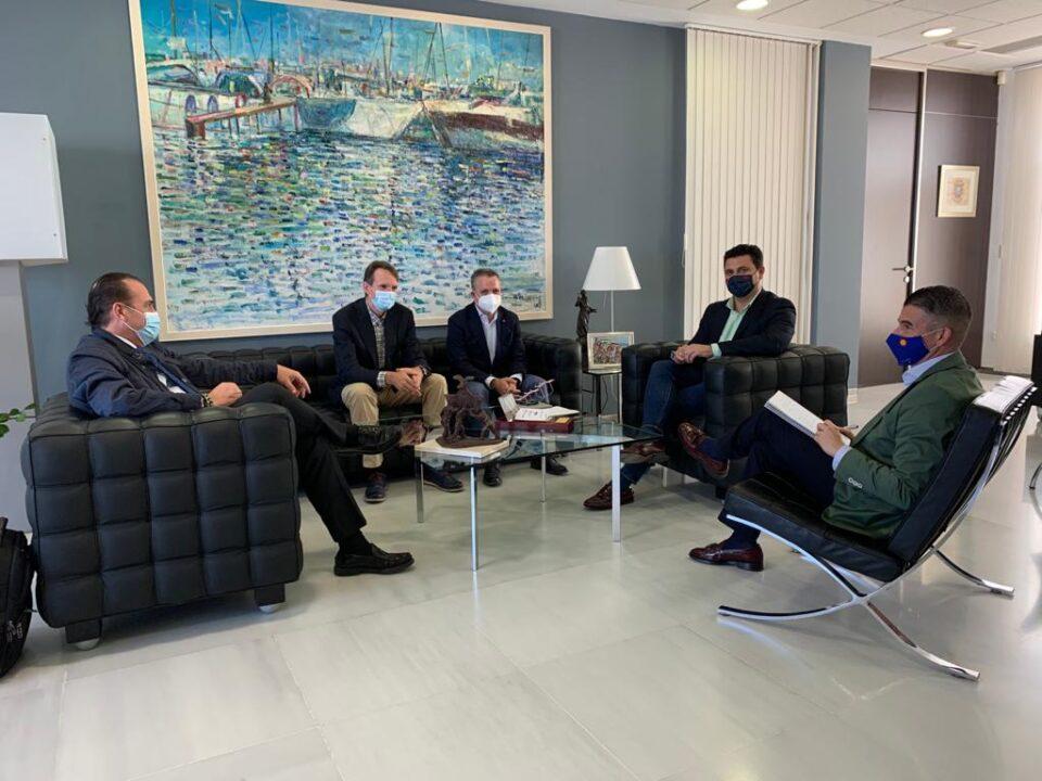 Reunión de APIRM y el Ayuntamiento de San Javier