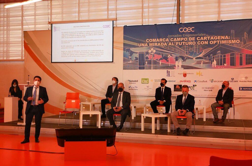 El presidente de APIRM participa en las Jornadas Empresariales de COEC