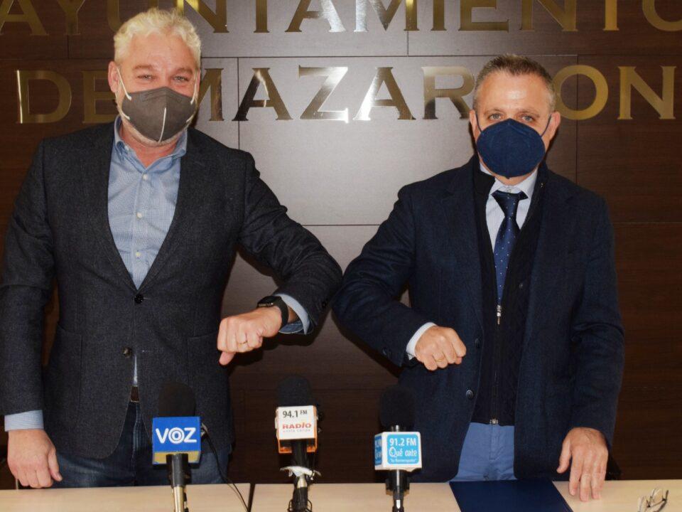 El Ayuntamiento de Mazarrón y la Asociación de promotores firman un convenio para la creación de una Oficina Profesional
