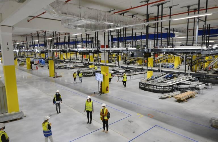 Amazon estrenará su macrocentro logístico en otoño de 2021