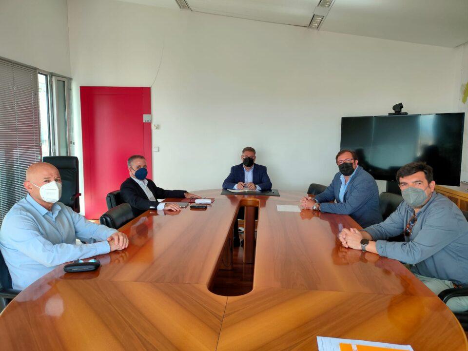 Presentación oficial del Comité Ejecutivo de APIRM al nuevo Concejal de Urbanismo