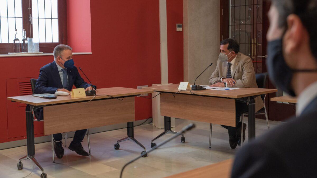 APIRM se reúne con el alcalde de Murcia, José Antonio Serrano para abordar la situación actual del Sector Inmobiliario Regional